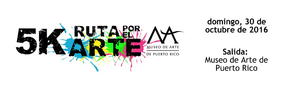 Cartel de promoción 5K Ruta por el Arte