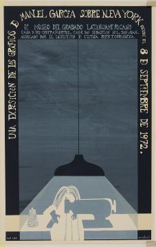 Una Exposición de las Gráficas de Manuel García sobre Nueva York