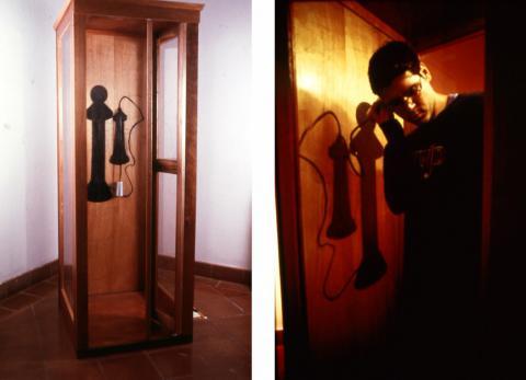 Pieza Cabina de Teléfonos (Doña Ana no está aquí)