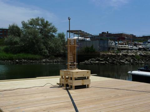 Instrument for a Floating Dock