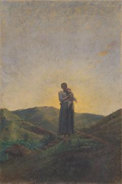 Mujer con niño