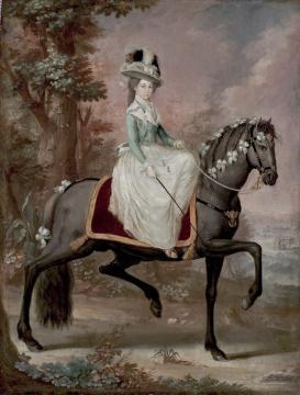Dama a caballo
