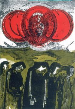Baquiné IX (El entierro)