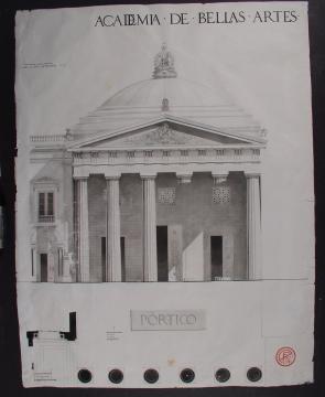 Academia de Bellas Artes (proyecto de arquitectura)