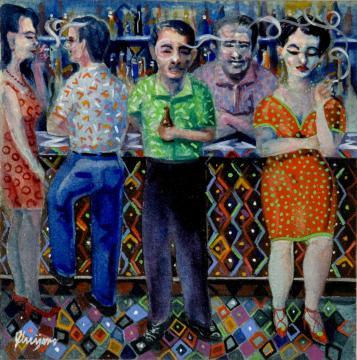 Seduction at Sesa Bar
