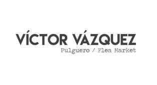 logo de la exhibición Víctor Vázquez Pulguero