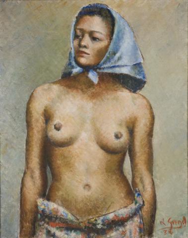 Sin Título [Desnudo], 1938, 30 1/4