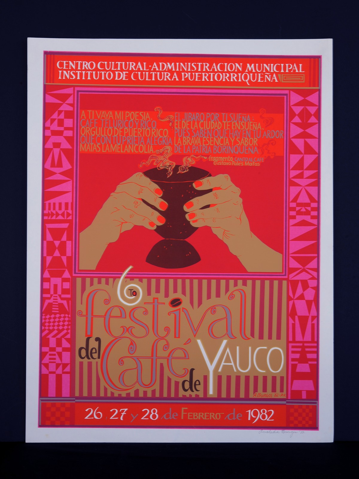 6to. Festival  del Café de Yauco