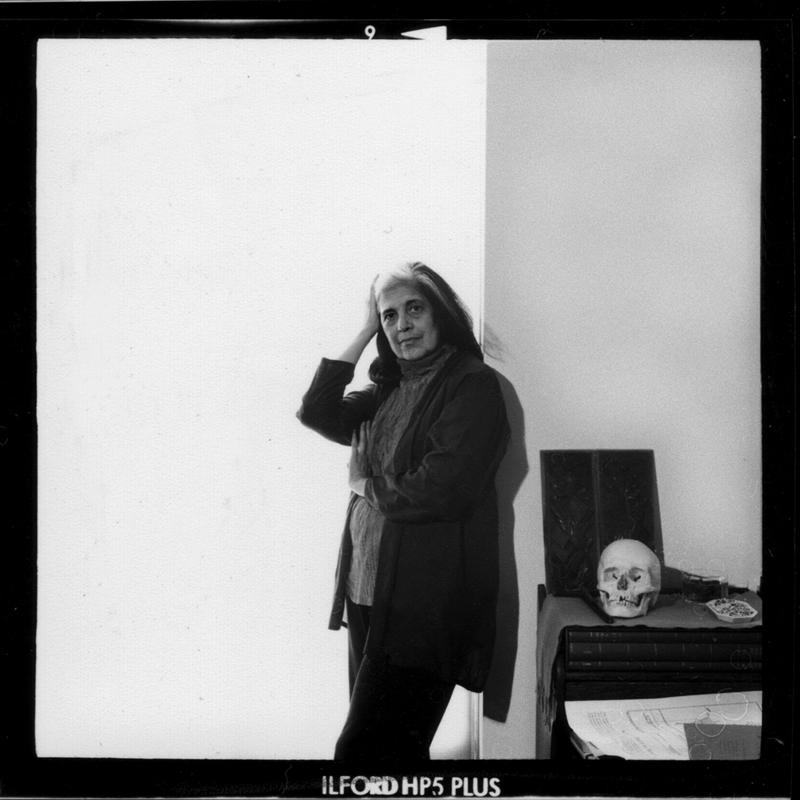 Retrato de Susan Sontag