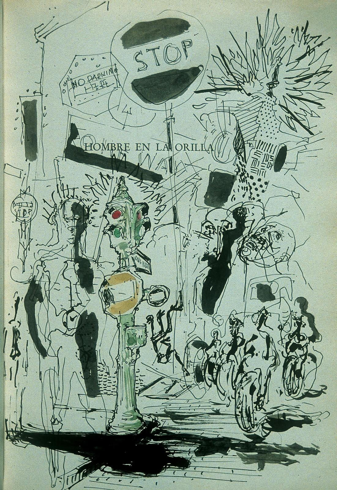 """Ilustración para """"Todo más claro"""" de Pedro Salinas"""