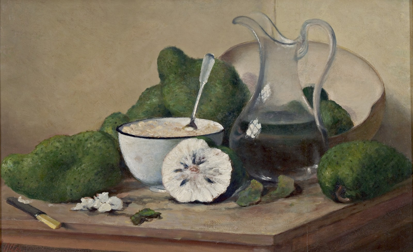 Still Life with Sour sops