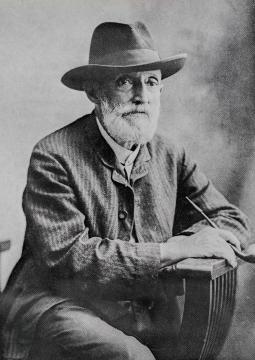 Photograph of Francisco Oller
