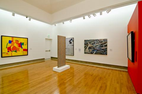 La persistencia de lo visible: arte abstracto y figuración, (4to Piso)