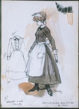 Cathleen, la criada (Largo viaje de un día hacia la noche)