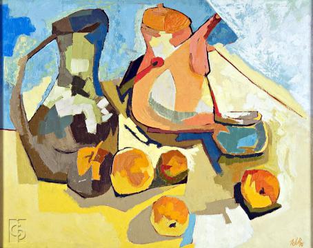 Cafeteras y Frutas