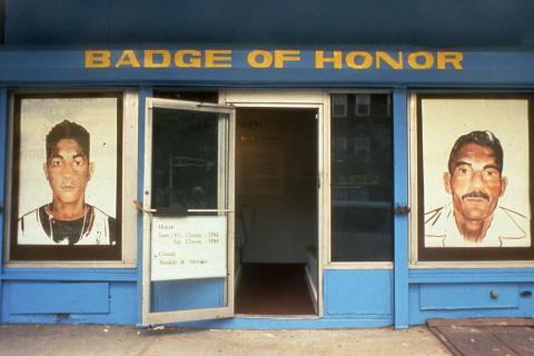 Vitrina de la Medalla de Honor