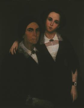 Sin título (Madre e hija de don Buenaventura Valentín)