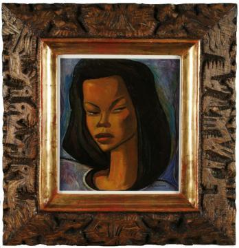 Mujer haitiana