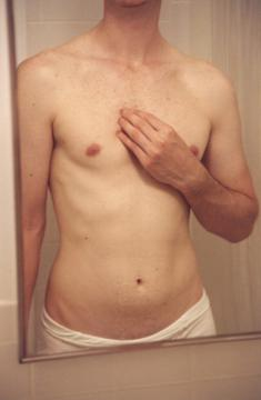 Bather #2 (chest, arm)