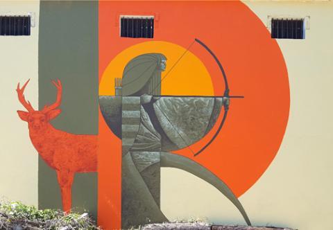 Artemis (mural)
