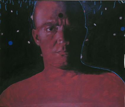 Autorretrato (fondo negro)