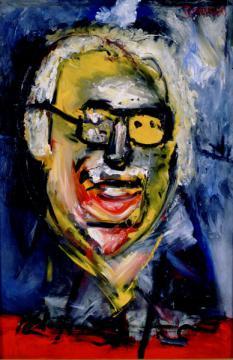 El pintor Manuel Hernández