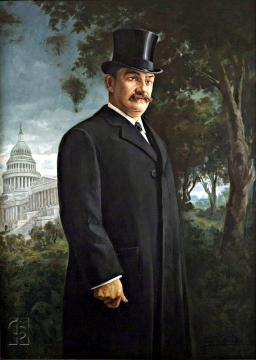 Retrato Luís Muñoz Rivera en Washington