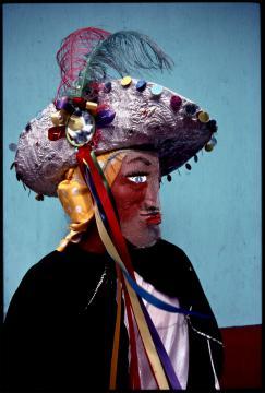 Santiago Apostle mask, Masquerade