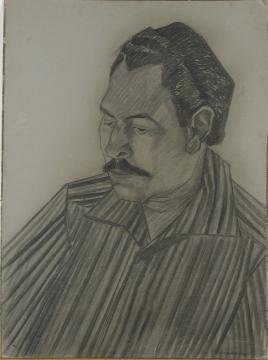 Retrato de Carlos Raquel Rivera