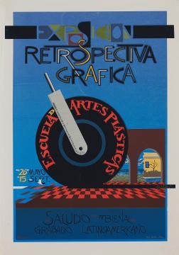 Exposición Retrospectiva Gráfica, Escuela de Artes Plásticas