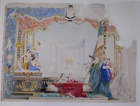 Study for an artistic decoration
