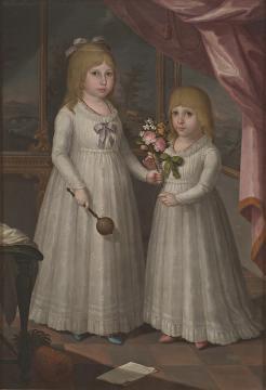 Las hijas del gobernador don Ramón de Castro