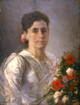 Retrato de Angelina Serracante
