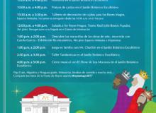 Programación del evento Fiesta de Reyes en el MAPR